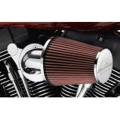 Harley-Davidson HEAVY BREATHER (64MM) ETC KIT - Chrome - 29000065