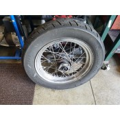 "USED - 1995 FXWG - Rear wheel - laced 16"" - OEM 40975-86 - ID 2967"