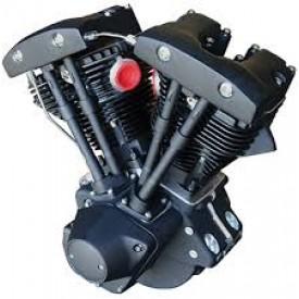 """ULTIMA 96"""" SHOVELHEAD MOTOR....BLACK"""