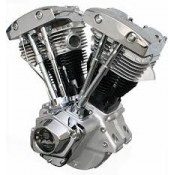 "ULTIMA 96"" SHOVELHEAD MOTOR....POLISHED"