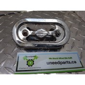 USED - 1995 FXWG - Chrome regulator cover - ID 2993
