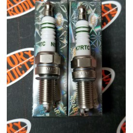 Factory Products, Spark Plugs, 99 and Later Twin Cam & Sportster, Two Pack.