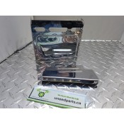 USED - 91-96 FXD - 1995 FXWG - Battery box cover - Chrome - OEM 66347-91 - ID 3000