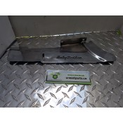 USED - 93-99 Dyna Wideglide - from 1995 FXDWG - lower belt guard - debris deflector Chrome cover - ID 3008