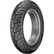 DUNLOP 130/90-B16 73H  D-401 HD SERIES REAR BLACK WALL TIRE, 3016-40