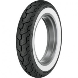 Dunlop MT/90-B16 74H DUNLOP HD SERIES REAR WIDE WHITE WALL TIRE, 3019-91