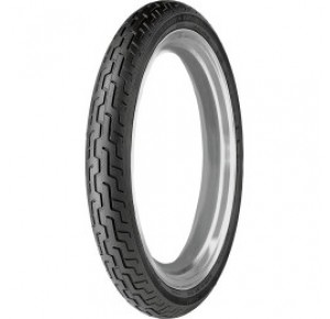 MT/90 B16 72H DUNLOP D-402 HD SERIES FRONT BLACK WALL TIRE