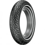 DUNLOP MT/90-B16 72H D-402 HD SERIES FRONT NARROW WHITE WALL TIRE, 3021-91