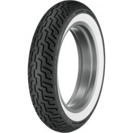 DUNLOP  MT/90-B16 72H D-402 HD SERIES FRONT WIDE WHITE WALL TIRE, 3022-91