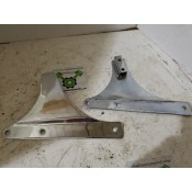 USED - 2009 Later Softail - Backrest support brackets - ID 3041