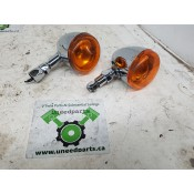 USED - Bullet style signal lights - Pair - ID 3113