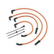 HARLEY DAVIDSON SREAMIN EAGLE 10MM PHAT SPARK PLUG WIRES ORANGE 31600110