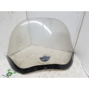 "USED - 98-2013 FLTR FLT  12 "" Windshield with 100th Anniversary emblem - ID 3183"