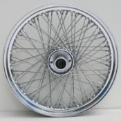 WHEEL,2.50X19-FXST 84/L- 80S-CHROME   36-397