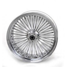 16 X 3.5, I INCH BEARING REAR 48  FAT SPOKE CHROME