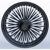 KING SPOKE BK/BK, 16X3.5 S, FRONT  37-732