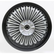 KING SPOKE BLK/BLK, 18x5.5 RR, CUSH DRIVE  37-736