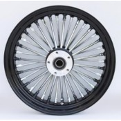 KING SPOKE 38 CHR/BLK, 16X3.5 RR  37-751