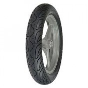 130/70 B18,  TUBELESS VEE RUBBER TIRE,  BLACK WALL, REAR