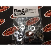 FACTORY PRODUCTS 5/16 STEEL CHROME PLATED FLAT WASHER