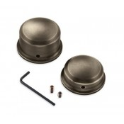 Brass Rear Axle Nut Covers 43000050