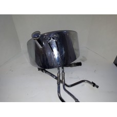 USED - Softail - Oil Tank with Lines - Chrome - OEM 62498-00