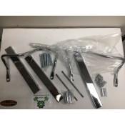 Harley Davidson softail fxst flst 3 channel luggage rack hand rail 53831-00