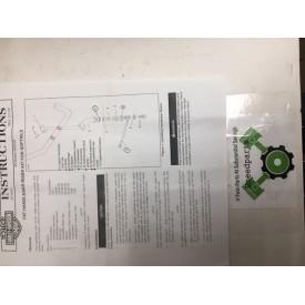harley davidson fat handlebar riser kit for softails  56033-00