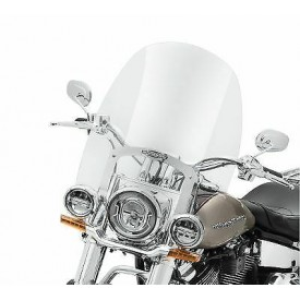 GENUINE HARLEY DAVIDSON- King-Size Nostalgic HD Detachable 21in W/S-OEM 57400329