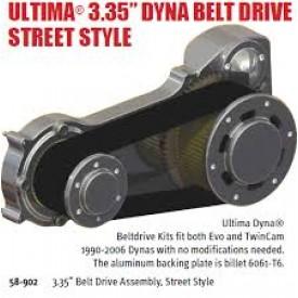 "ULTIMA 3.35"" DYNA BELT DRIVE, STREET STYLE"