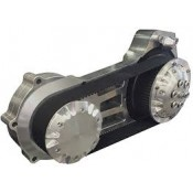 """ULTIMA 2"""" BILLET POLISHED LATE MODEL BELT DRIVE - '06/LATER DYNA, '07/LATER SOFTAIL P/N 58-960"""