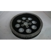 USED - Rear Pulley 70 tooth  black/polished  - OEM 40217-00