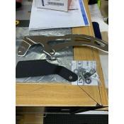 GENUINE HARLEY DAVIDSON FXST/B/C/F CHROME UPPER BELT GUARD OEM 60649-07