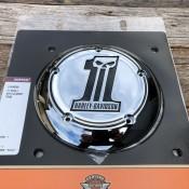 Harley Davidson #1 Skull Chrome OEM Air Cleaner Trim - NEW - 61400009