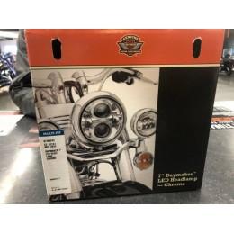 "Harley-Davidson OEM 7"" Daymaker LED Headlamp, Chrome, 67700243 - ID 1664"