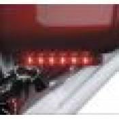 HARLEY DAVIDSON ELECTRA GLO STEALTH AUX LEDR/BT RED LAMP 67800554 - ID 1832