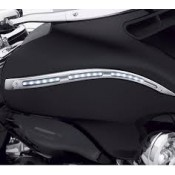 HARLEY DAVIDSON CHROME ELECTRA GLO ILLUMINATED FAIRING ACCENT TRIM 68000190 - ID 1947