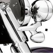 Genuine Harley-Davidson SMOKED LENS TURN SIGNAL KIT OEM 69228-04 NEW