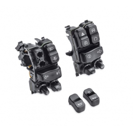 Harley-Davidson OEM  BLACK Lighted Hand Control Switches, Touring 2014, 71500248B