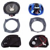 HARLEY DAVIDSON  7.25 SPEAKER KIT 06-12 ROAD GLIDE FAIRING HRRK7252GTM - ID 1911