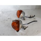 USED - Front Turn Signal - Amber Lens (pair)