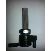 Factory Products, 22MM Black Fuel Valve, Down Outlet.