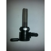Factory Products, 22MM Black Fuel Valve, Forward Outlet.