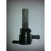Factory Products, 22MM Black Fuel Valve, Side Outlet.