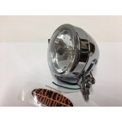 1 PAIR OF CHROME PLATED SPOT LIGHTS