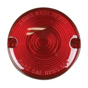 REPLACMENT TURN SIGNAL LENS,TURN RED 68457-86