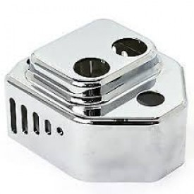 Vented Coil Cover, Chrome