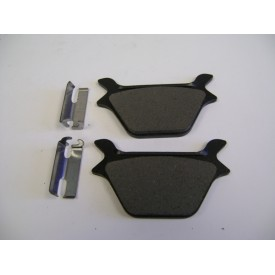 Factory Products, OEM Rear kevlar/metallic Brake Pads. 87-99.