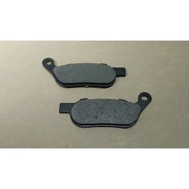 Factory Product, OEM Front/Rear Brake Pad Set.  Fits Big Twin, DYNA And Softail 2008 later.  OEM # 42298-08