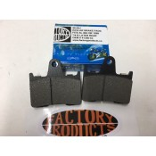 2014 & LATER SPORSTER 883 OR 1200 REAR BRAKE PADS